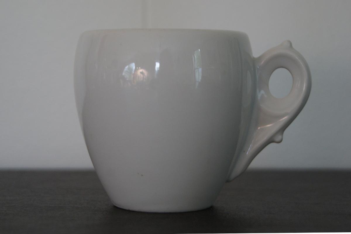 Porsgrund thick porcelain cup